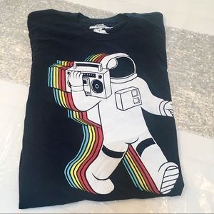 Threadless Navy Graphic Tshirt (M)